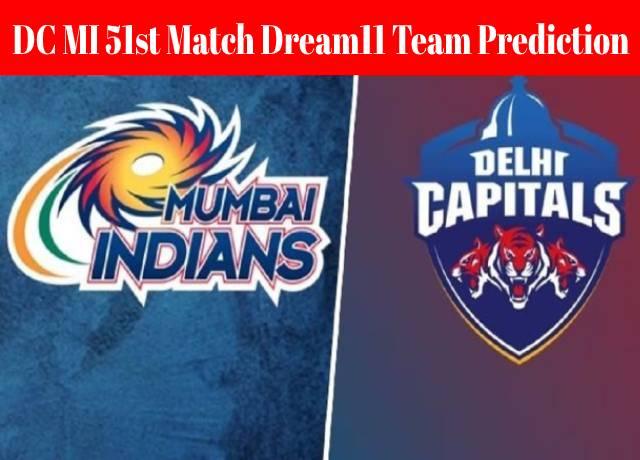 DC MI 51st Match Dream11 Team Prediction