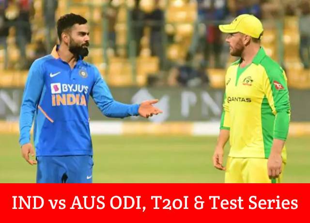 INDvAUS : Where to watch India vs Australia matches