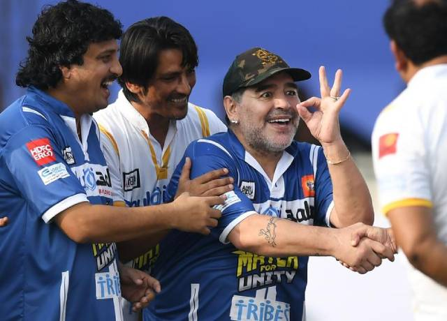 On the tour of India, Maradona said- Everyone used to drop me in the match