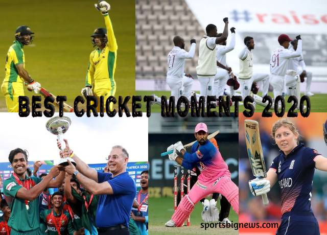 Best Cricket Moments of 2020