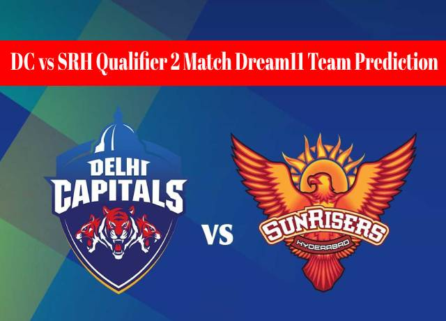 DC vs SRH Qualifier 2 Match Dream11 Team Prediction and Fantasy Playing Tips