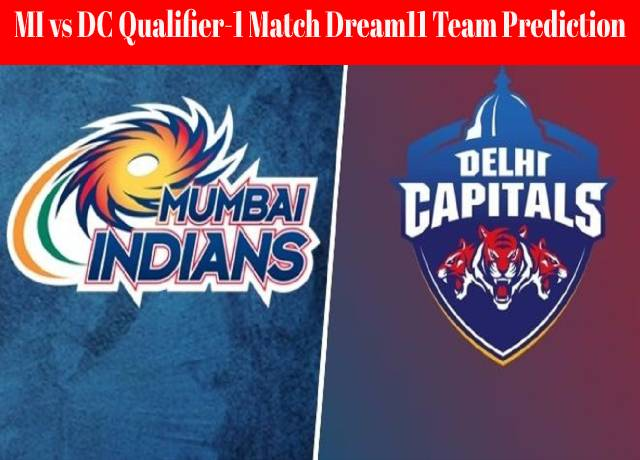 MI vs DC Qualifier-1 Match Dream11 Team Prediction and Fantasy Playing Tips