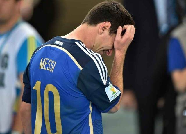 Leo Messi's World cup exit