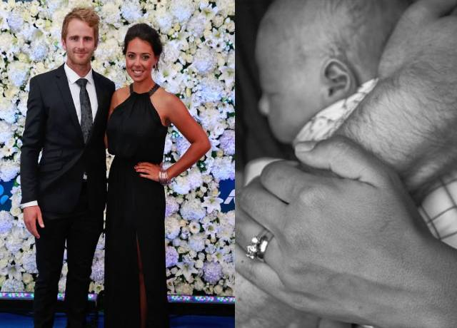 Kane Williamson became father to a baby girl, photo shared on social media
