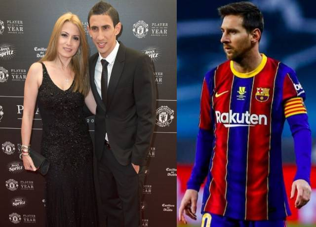 Angel Di Maria's wife said this to him after transfer rumors on Messi
