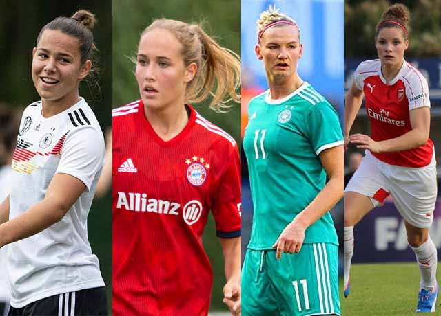 Top 10 most valuable Bundesliga women's players