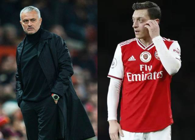 Jose Mourinho strikes back to Ozil's statement