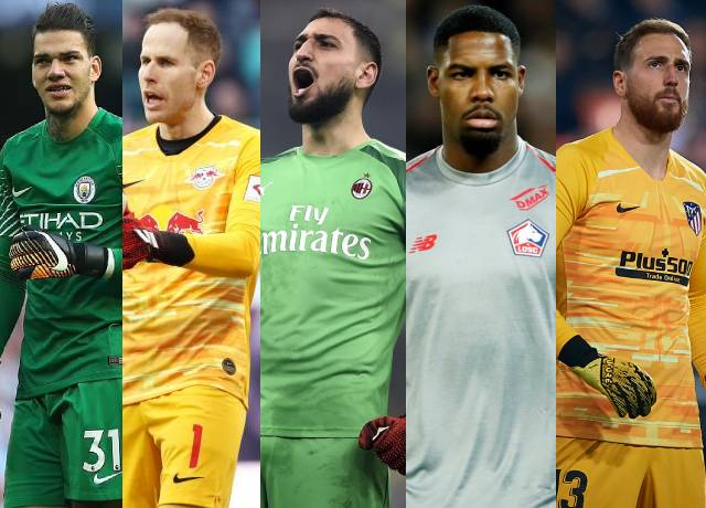 Most clean sheets in Europe's top 5 leagues