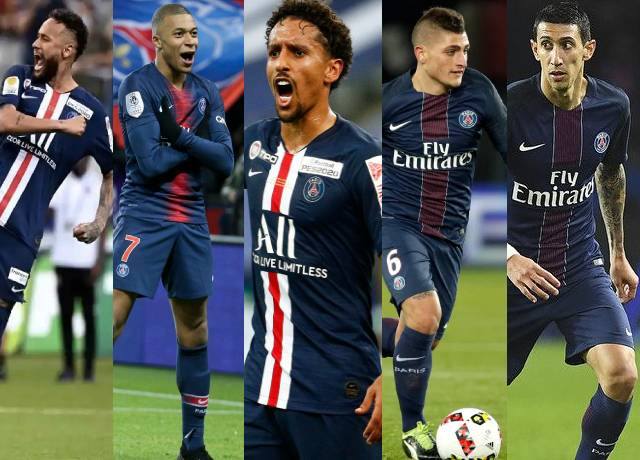 Highest paid players in Ligue 1