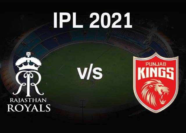 VIVO IPL 2021 : RR vs PBKS 4th Match live streaming & score