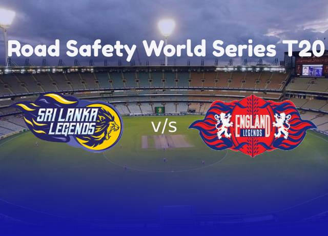 Road Safety World Series T20 : SLL vs ENGL 14th match live score