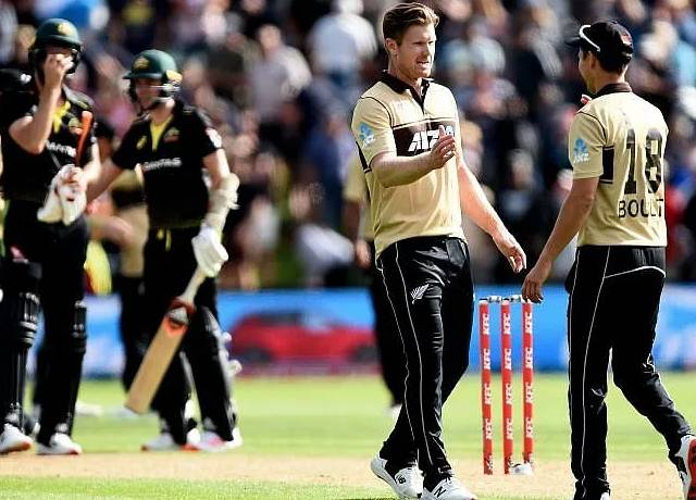 NZ vs AUS 3rd T20I match live score & streaming