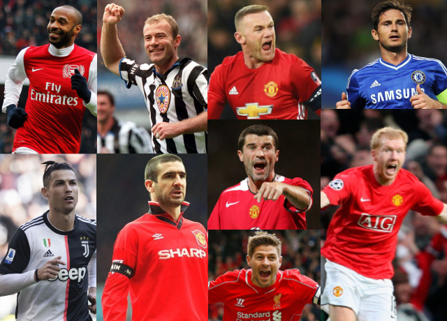 Top 10 greatest Premier League players of all time