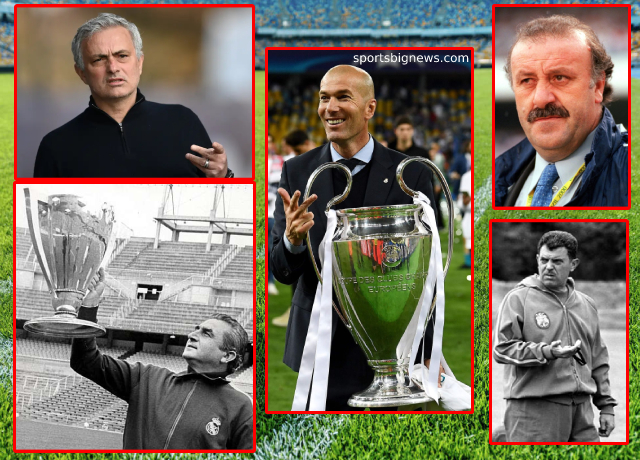 Ranking Real Madrid's top 5 managers