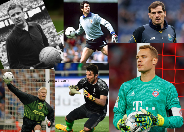 Top 10 goalkeepers of all time