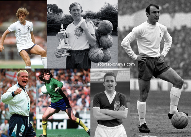 Top 10 greatest Tottenham players of all time