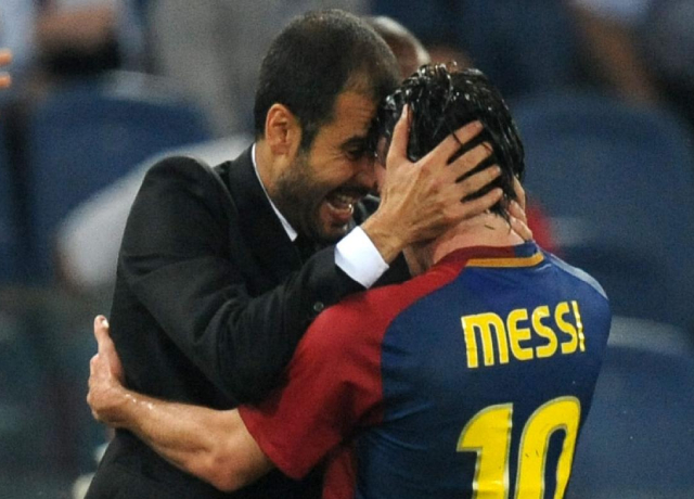 Pep gives his opinion over Messi's future