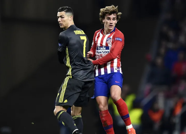 Griezmann could replace Ronaldo if Juventus fail to qualify for the UCL