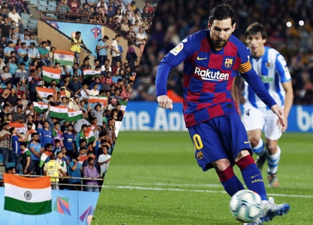 Indian Football Fans Love European Football