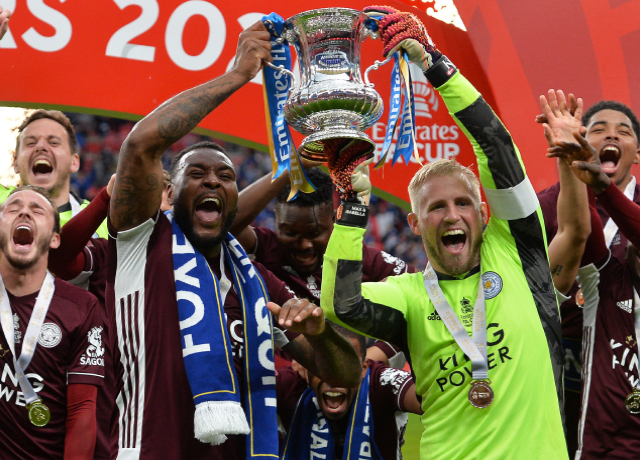 Leicester lifts their first FA Cup trophy