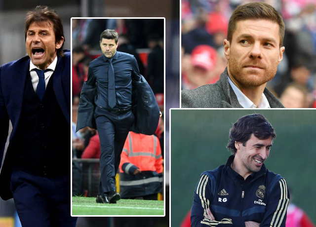 Real Madrid could sign one of these four managers this summer