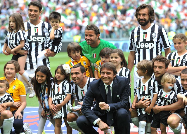 Antonio Conte started Juventus' dominance then and ended it now