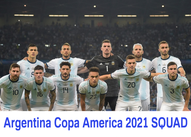 2021 COPA AMERICA Team Analysis: Argentina squad and probable lineup