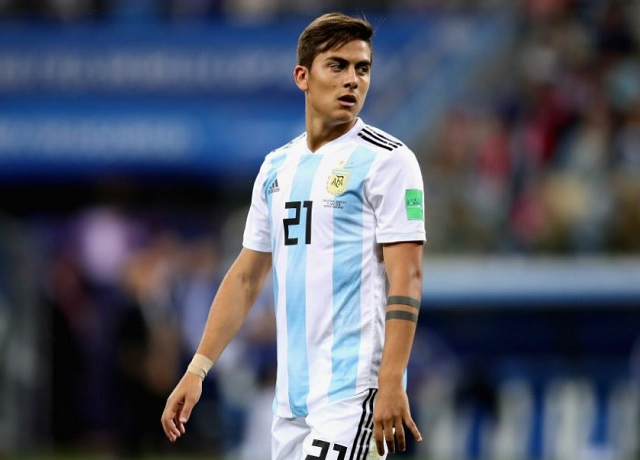 Paulo Dybala not included in Argentina squad for UEFA Euro 2020