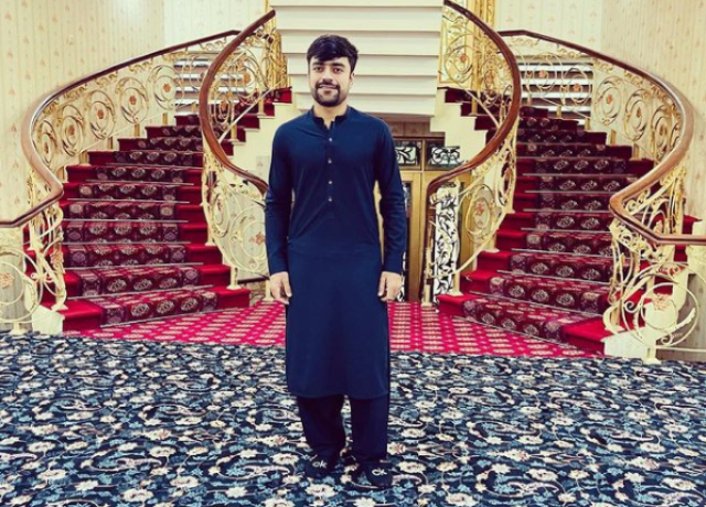 The luxurious house of Rashid Khan, female cricketer asked- 'What a place'