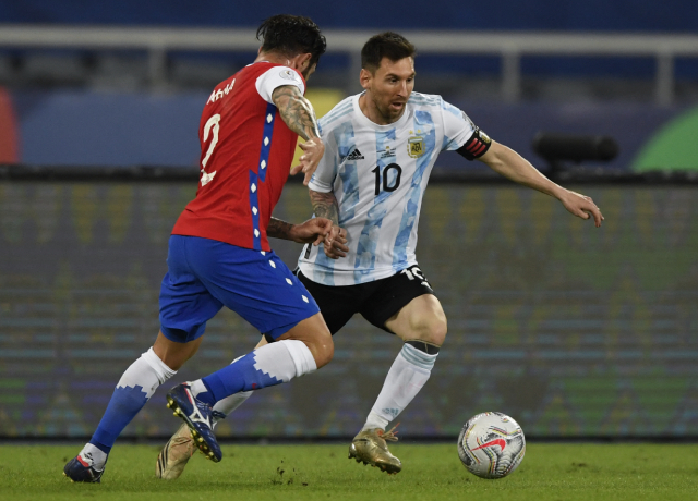Copa America 2021: Argentina and Chile share points, Messi equals Ronaldo's record