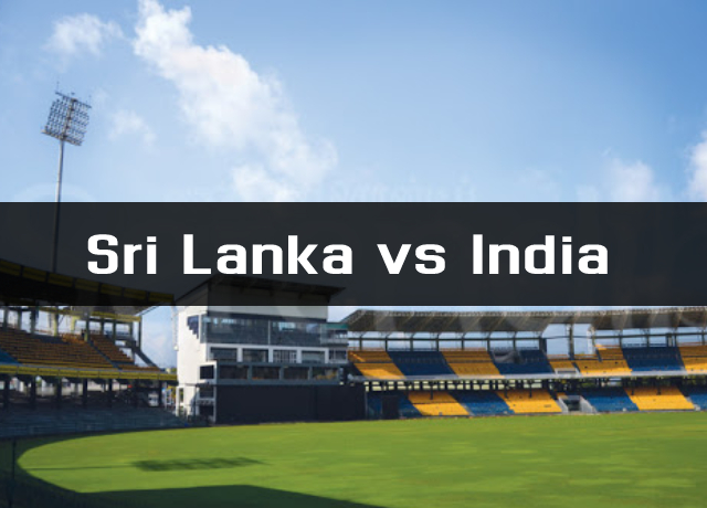 Sri Lanka vs India : Schedule and Where to watch live streaming online