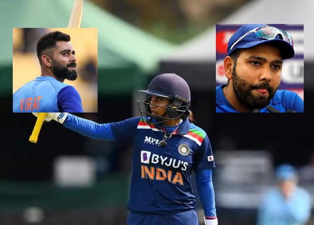 Mithali Raj breaks the record of Kohli, Rohit and Dravid