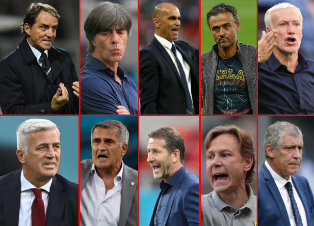 Top 10 Best National Team Coaches In The World Right Now