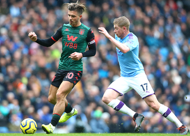 Jack Grealish close to team-up with Kevin De Bruyne in Man City