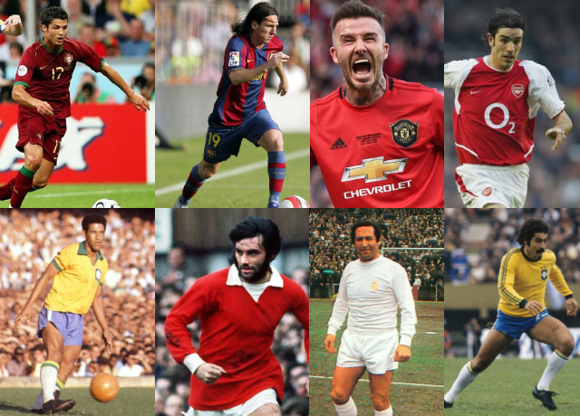 Top 10 greatest wingers in football history