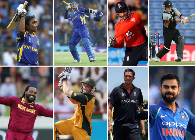 Batting Records of ICC Men's T20 Cricket World Cup