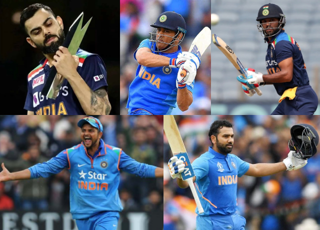 Top 5 Indian T20 Batsman of All Time