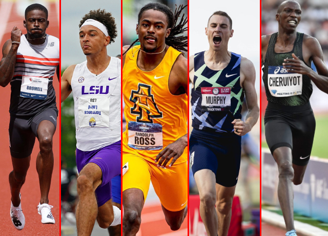 10 Fastest Athletes In The World Right Now