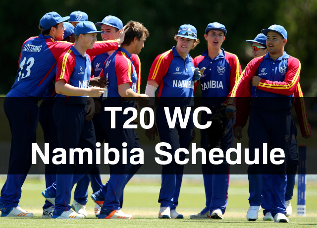 T20 World Cup: Namibia Schedule, Squad, Time & Date