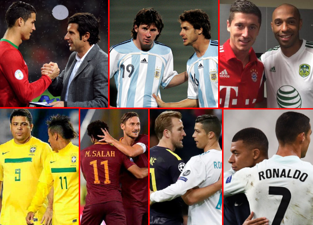 World's Best Football Players And Their Idols