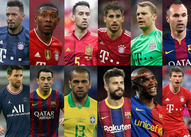 All 13 Players Who Have Won Two Trebles In Their Career