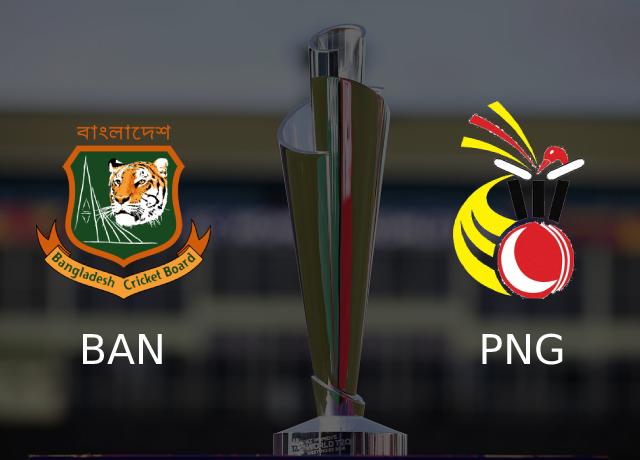 T20 WC 2021: BAN vs PNG, Group B, 9th match Live Streaming