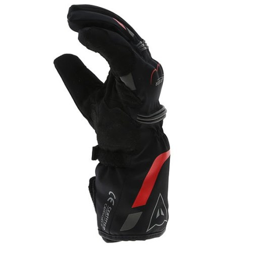 Image result for dainese gloves TEMPEST D-DRY BLACK RED