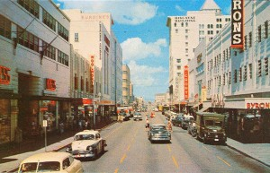 Flagler St Miami looking west