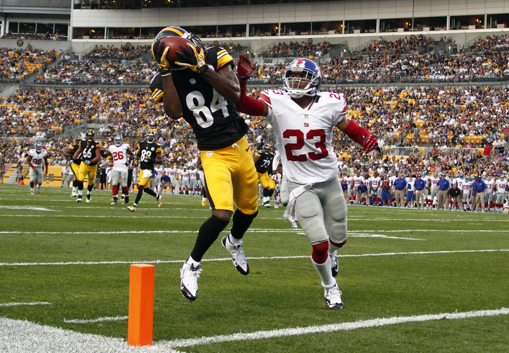 Antonio Brown leads talented receiving corps for Steelers