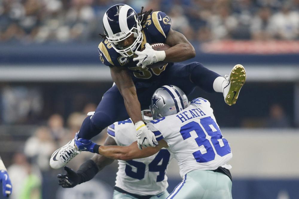 divional playoff matchup Rams vs Cowboys free pick