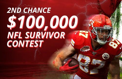 NFL survivor second chance contest