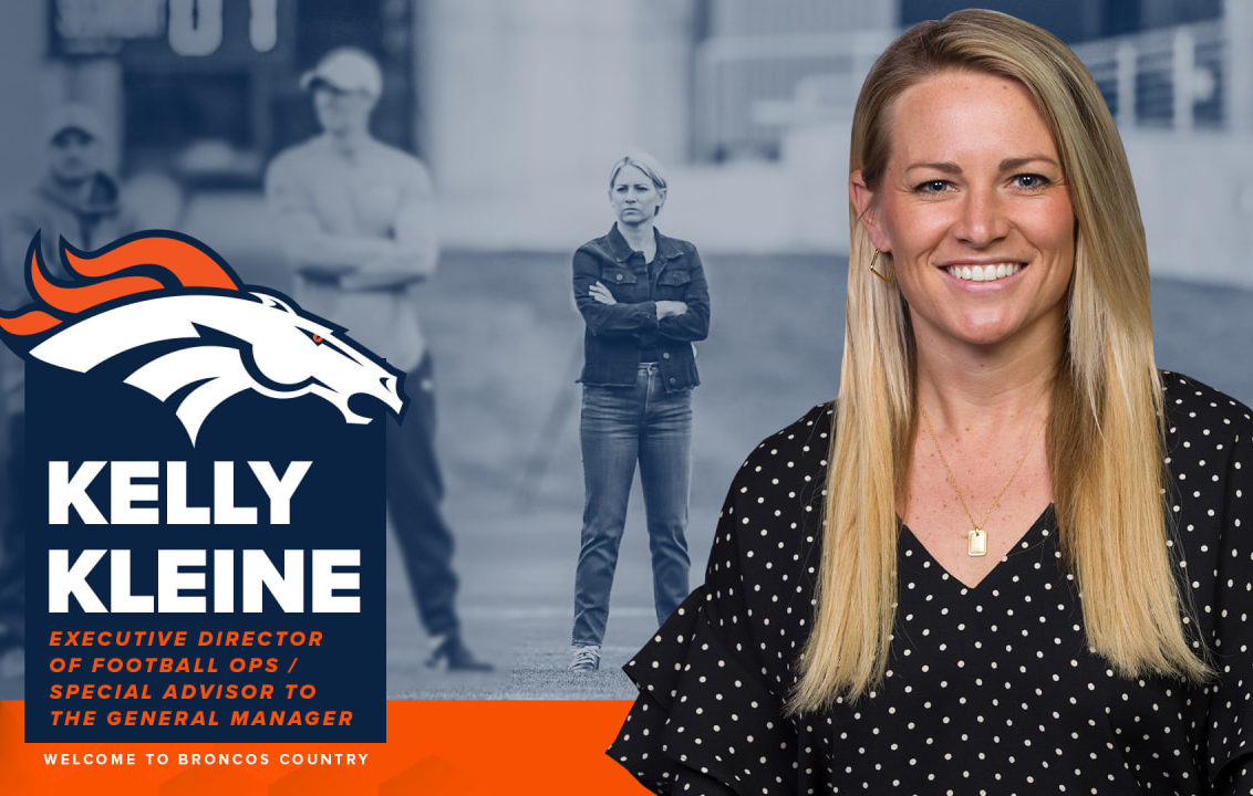 Broncos new hire is a lady