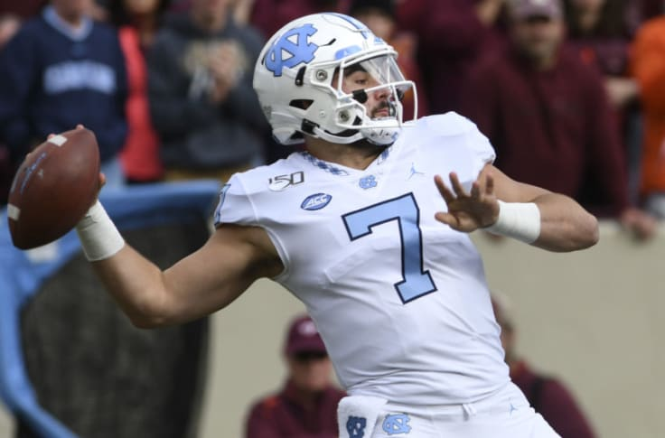 Sam Howell leads UNC at Va Tech in week 1 of 2021