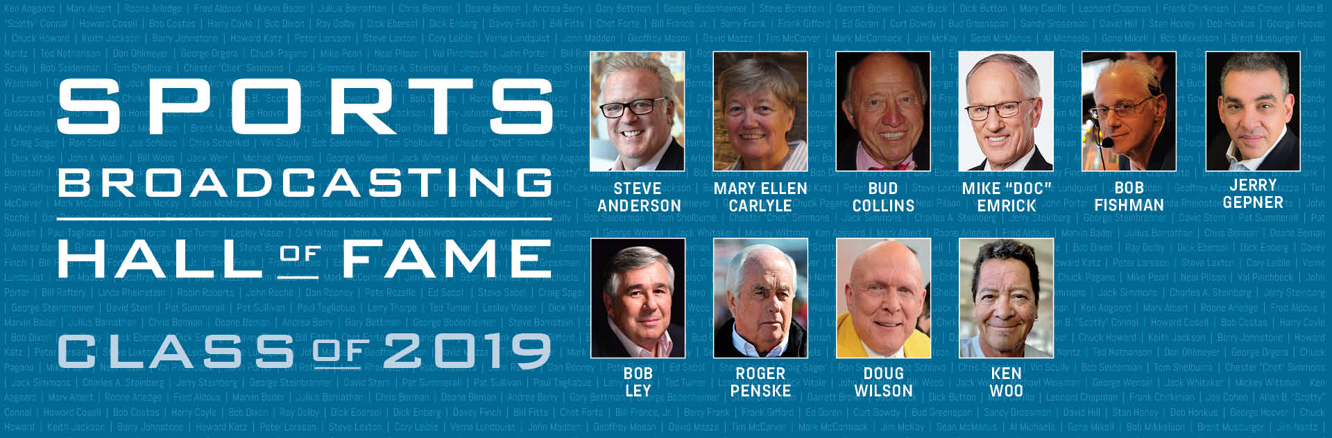 Sports Broadcasting Hall of Fame Adds 10 Inductees During Unforgettable Ceremony